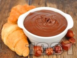 Домашен течен шоколад Нутела - снимка на рецептата